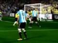 《实况足球2012》皮吊小角度搓射教程
