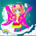 可爱天使装扮